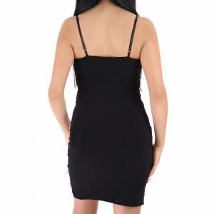 Rochie Lily Black - Rochie scurtă cu paiete neagră simte-te atrăgătoare si misterioasă purtând această rochie și atrage toate privirile la urmatoarea petrecere. - Deppo.ro