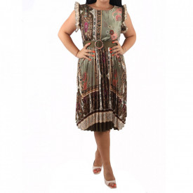 Rochie Siona Green