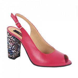 Sandale din piele naturală cod 1068 Siclam