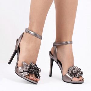 Sandale pentru dame cod 0708 SILVER