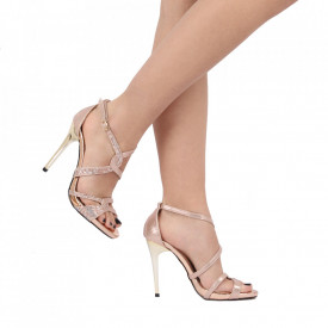 Sandale pentru dame cod 11G8 CHAMPAGNE