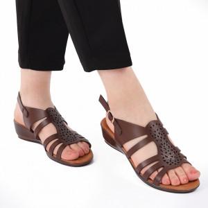 Sandale pentru dame cod 176681 Maro