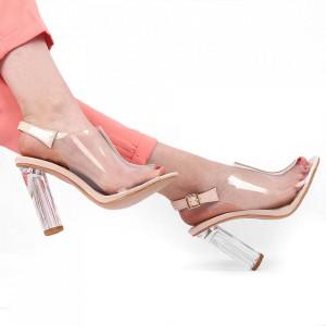 Sandale pentru dame cod B7611 Bej