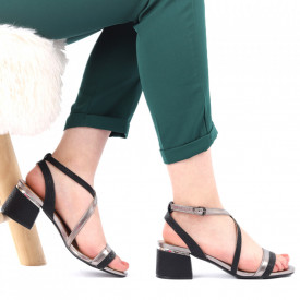 Sandale pentru dame cod CD02 Pewter