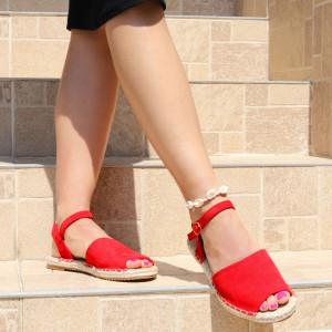 Sandale pentru dame cod F32 Red