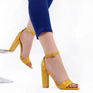Sandale pentru dame cod OD0311 Yellow