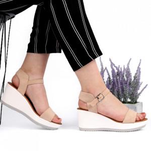 Sandale pentru dame cod SH986 Beige