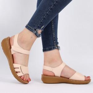 Sandale pentru dame cod TH0003 Beige