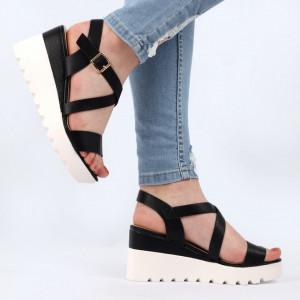 Sandale pentru dame cod YH-16 Black