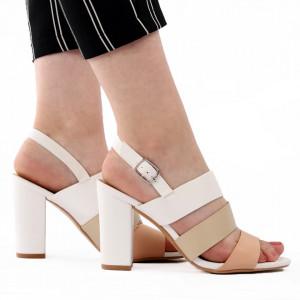 Sandale pentru dame cod Z02 White