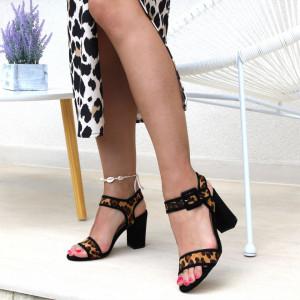 Sandale pentru dame cod Z05 Leopard