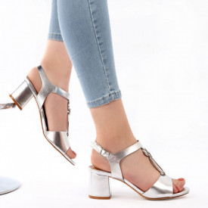 Sandale pentru dame cod Z08 Silver