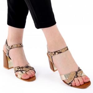 Sandale pentru dame cod Z10 Brown