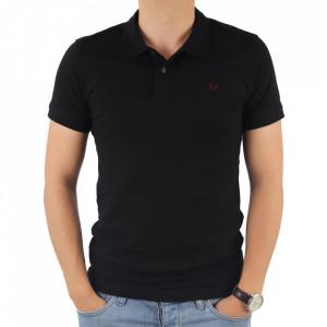 Tricou pentru bărbați cod 4002 Negru
