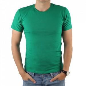 Tricou pentru bărbați cod 4101 Verde Deschis