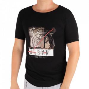 Tricou pentru bărbați Cod LL45 Black