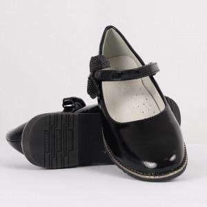 Pantofi pentru fete cod 1915 Negri