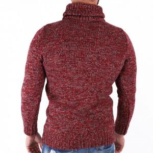 Bluză Blake Red - Bluza groasă perfectă pentru sezonul rece, o piesă cu reputaţie a stilului casual având compoziţia 70% material acrilic şi 30% lână - Deppo.ro