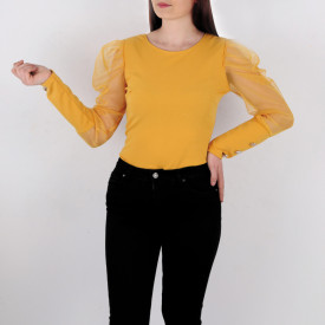 Bluză Emilie Yellow