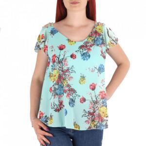 Bluză pentru dame cod 6445 Verde