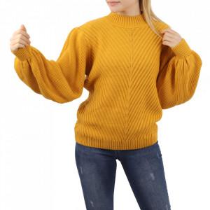 Bluză pentru dame cod F65 Yellow