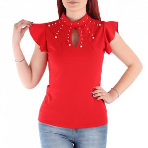 Bluză pentru dame cod VL14 Roșu