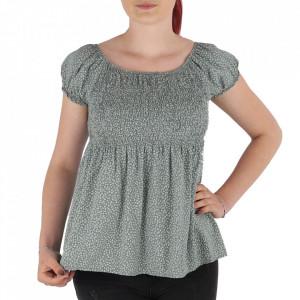 Bluză pentru dame tip cămășuță cod 31065 Green
