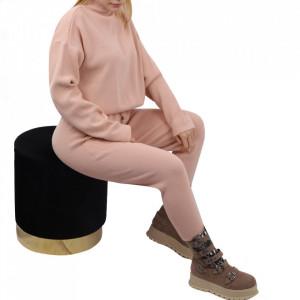 Compleu tricot damă Pink