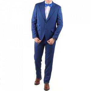 Costum classic fit 2100-2 Albastru