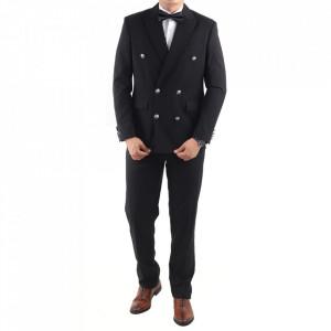 Costum classic fit 2110 Negru