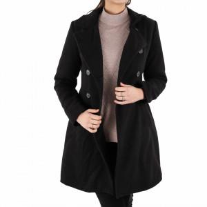 Palton Alicia Black