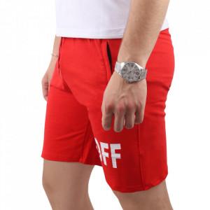 Pantaloni scurți pentru bărbați cod OFF1 Red