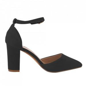 Pantofi cu toc cod 850-26 Black