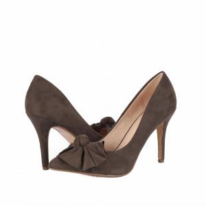 Pantofi cu toc cod AF67896 Olive