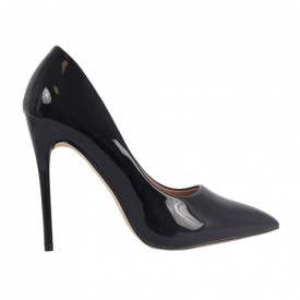 Pantofi cu toc cod EK0097 Negri