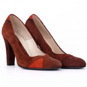 Pantofi Cu Toc din piele naturală Mylie Brown