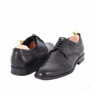 Pantofi din piele naturală Alvin Negru
