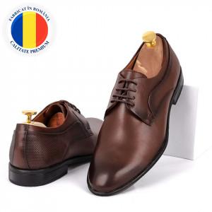 Pantofi din piele naturală Archie Maro
