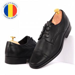 Pantofi din piele naturală Ben Negri