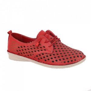 Pantofi din piele naturală cod 2023 Red