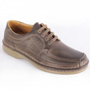 Pantofi din piele naturală pentru bărbați cod 220 NS