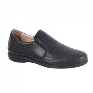 Pantofi din piele naturală pentru bărbați cod 3500-1 Siyah