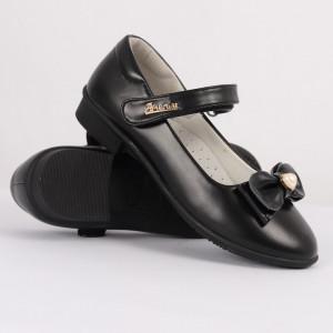 Pantofi pentru fete cod CP68 Negri