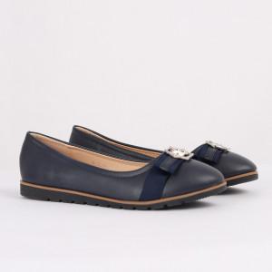 Pantofi pentru fete cod XLD216 Bleumarin - Pantofi pentru fete cu un design lejer ceea ce ii face foarte comozi la purtare - Deppo.ro