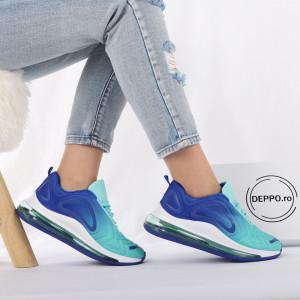 Pantofi Sport cod LB8833 Aqua Green