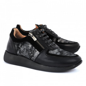 Pantofi sport din piele naturală  Cod 473