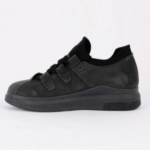 Pantofi Sport Melissa Cod 464 - Pantofi sport din piele ecologică întoarsă  Închidere prin șiret  Foarte comfortabili - Deppo.ro