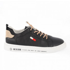 Pantofi sport pentru bărbați cod 3006B Black