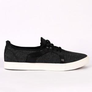 Pantofi Sport pentru bărbați negri cod KL9601 BLACK