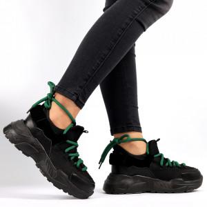 Pantofi Sport pentru dame Cod 138 Black